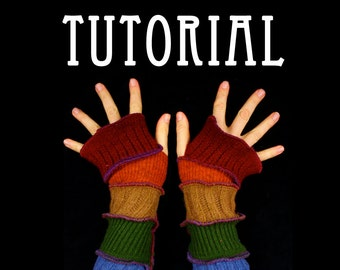 Arm Warmer Pattern - Great Christmas Gift idea - PDF
