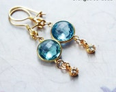 Topaz Gems Earrings