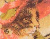 Button-- Victorian Cat -- Lizzie