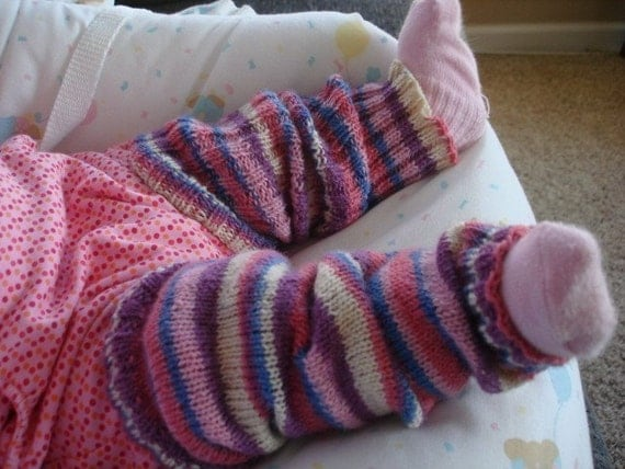 Knitting Pattern For Toddler Leggings : Knit pattern Infant Toddler Leg Warmers