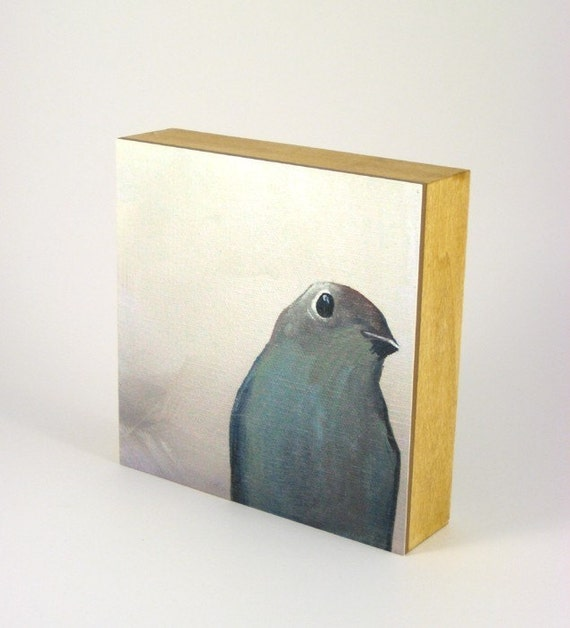 A Vague Sense That There Is More To Life Than Eating Gnats - 6 x 6 PANEL PRINT