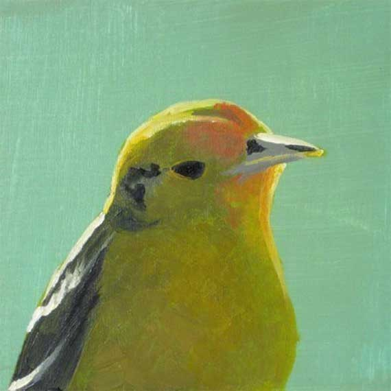 The Prodigal Son Returns, Bearing Gifts Of Vengeance - 8 x 8 bird art print