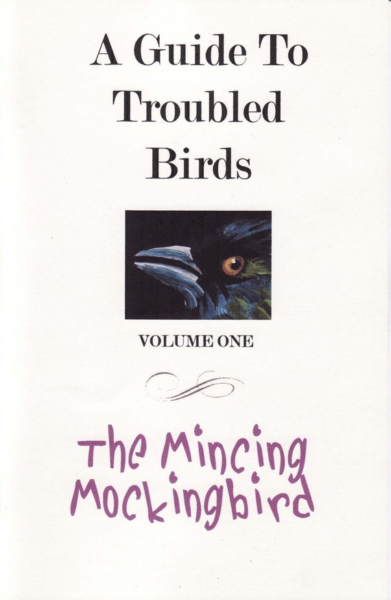 A Guide To Troubled Birds, A Folio Pamphlet Of Birds