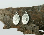 Tree of life earrings - nature inspired goodness