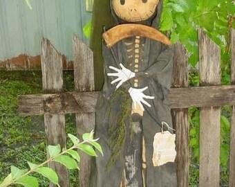 Primitive Grim Reaper Doll E-PATTERN