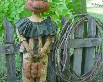 Primitive Masquerade Party Hobgoblin Doll E-PATTERN