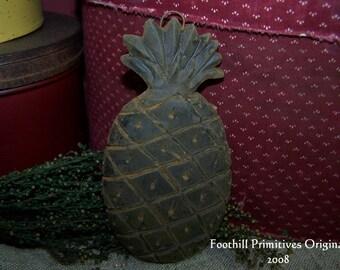 Primitive Beeswax Pineapple Hanger  Ornie OOAK