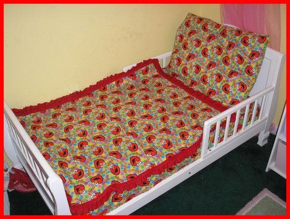 Elmo Toddler Bed Sheet Set