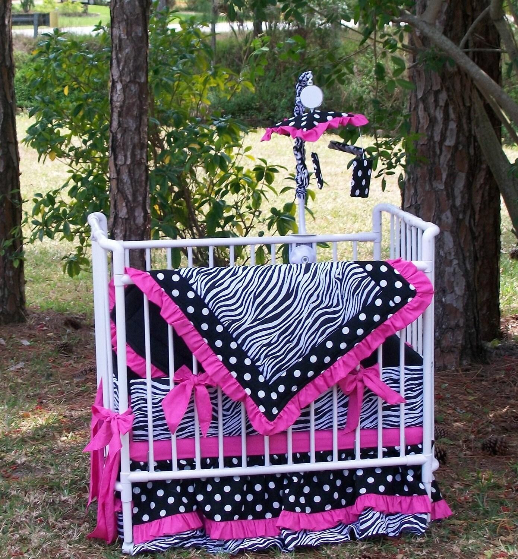Baby crib zebra bedding -  Zoom