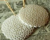 Carved lace earrings n. 1\/10