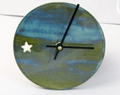 Reserved 12 oclock Ceramic  Wall Clock and bowl