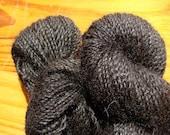 Black Alpaca Yarn