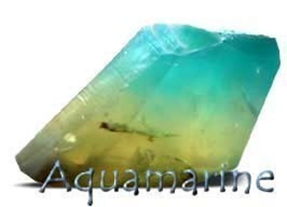 Aquamarine SoapStone - Art for your soapdish