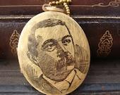 Sir Arthur Conan Doyle Brass Locket