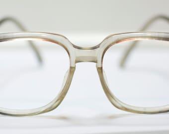 SUMMER SALE Vintage Womens Eyeglasses Oversized Hipster Glasses by Lido