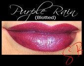 Purple Rain-(Dark red with purple shimmer & blue duochrome shift) Cheek and Lip Color Mineral makeup Lipstick