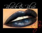 Black & Blue Lipstick (Blackened Blue) GothLip Stix