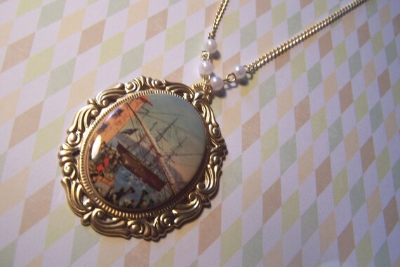 boston tea party necklace