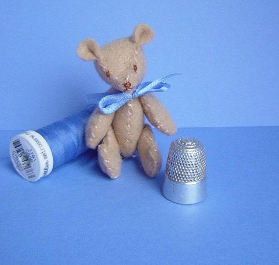 Tiny Teddy Bear - Henri