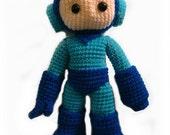Megaman Crochet Pattern