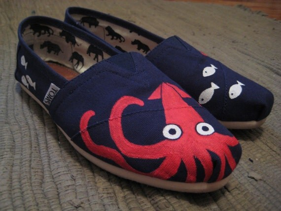Maritime Squid TOMS (Custom Painting Only)