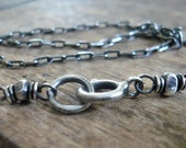 Necklace Design Your Own Series -  Sterling Silver Elongated Cable Chain