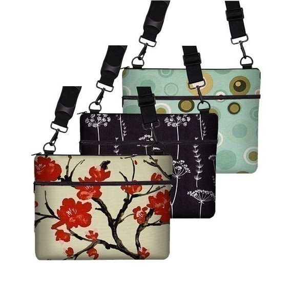 13 inch MACBOOK and  Unibody and Pro  Laptop Sleeve\/Bag\/Case with zipper pocket and adjustable strap -- lots of fabrics to choose from