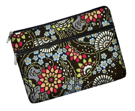 SUPER SALE reg 40 - Mini Laptop Netbook Sleeve\/Bag\/Case padded zipper pocket - READY TO SHIP