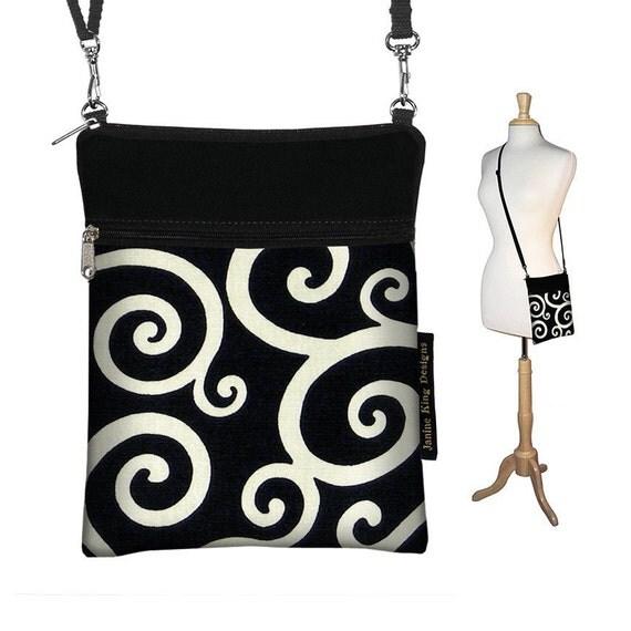 SALE reg 30 - Sling Bag Shoulder Purse handbag small mini unique handmade - READY TO SHIP