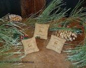 Primitive Christmas Bowl Filler Ornies E Pattern PDF