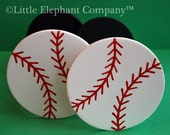 Baseball Curtain Holdbacks
