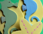 Sea Horse and Starfish Quilt Clips - Set/3