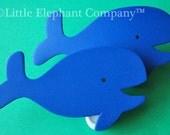 Whale Quilt Clips - Set/2