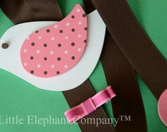 Pink Migi Blossom Hair Barrette, Clip, Clippie, Bow Holder in Pink