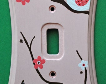 Blossom Lightswitch Cover