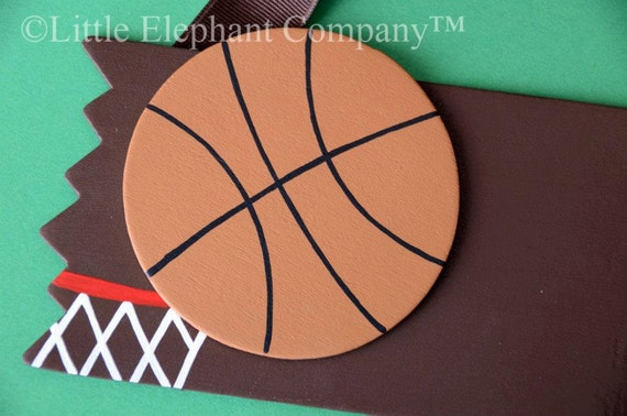 READY TO SHIP Basketball Name Sign - Free Personalization