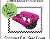 Shopping Cart Seat Cover Sewing Pattern eBook - IMMEDIATE DOWNLOAD