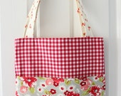 market bag with front pocket