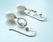 Pearl Earrings - bridesmaid earrings