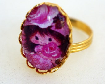 SALE The Sweetest Flower Adjustable Ring