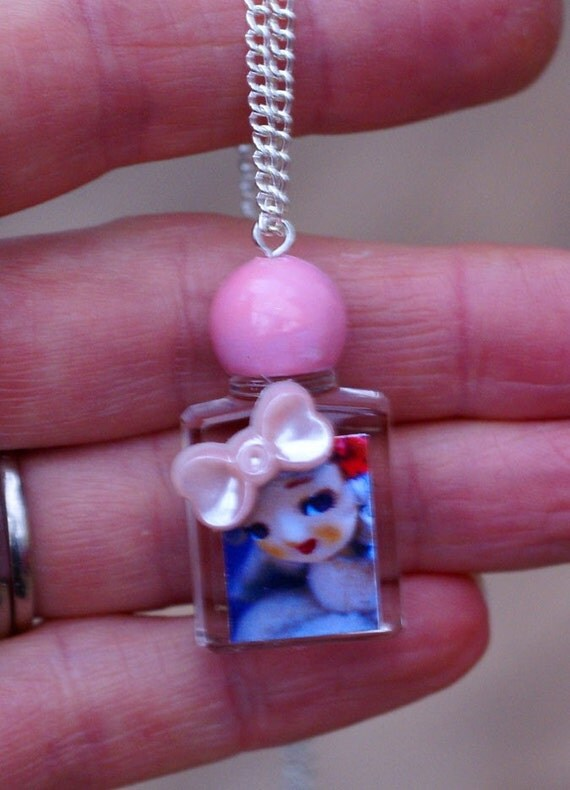 SALE Dolcie Perfume Pendant Posie Necklace