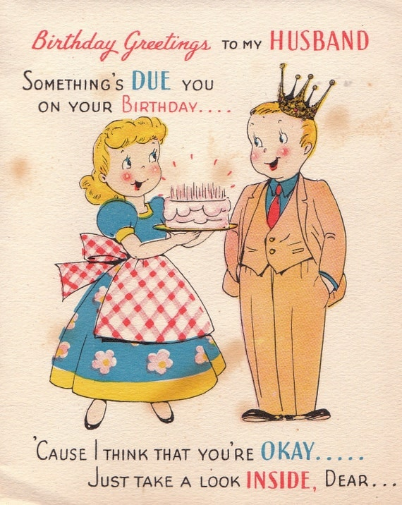 Old Fashioned Cheeky Postcards Clipart