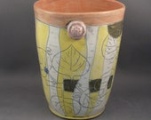 Oval Vase  in aspen birch design