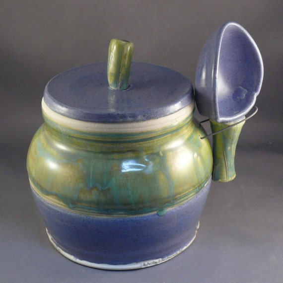 Storage Jar Canister with Scoop