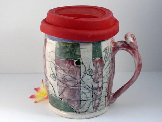 Ceramic Travel Mug Ceramic Coffee Mug With By