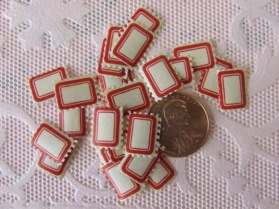 Teeny Tiny Vintage Dennison Labels
