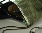 Green Zegna Shoebag , Couture Shoe bag