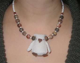 Bold Owl Necklace