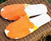 Vintage Vera Linen Slippers