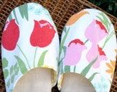 Tulip Vintage Slippers